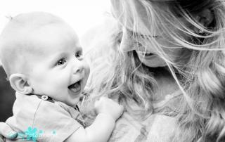 moeder en baby