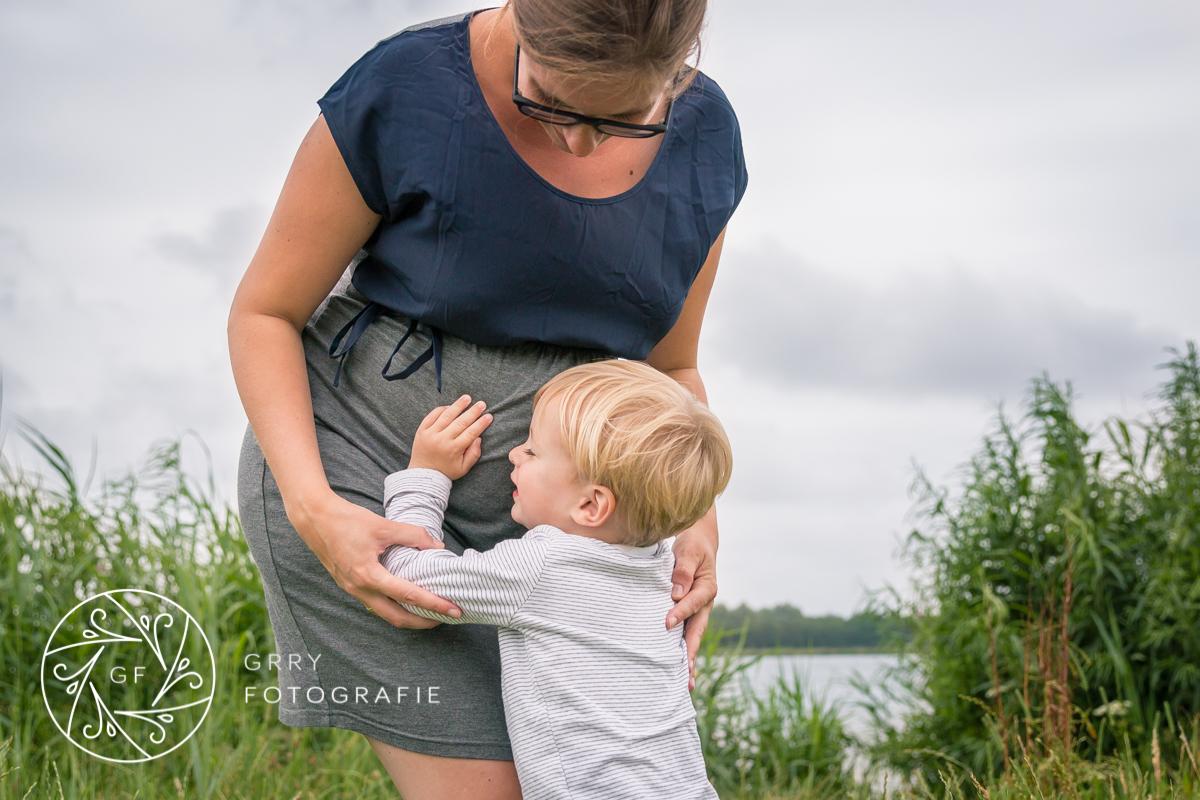 zwangerschap|knuffel voor de baby