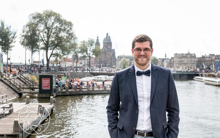 Portret in Amsterdam