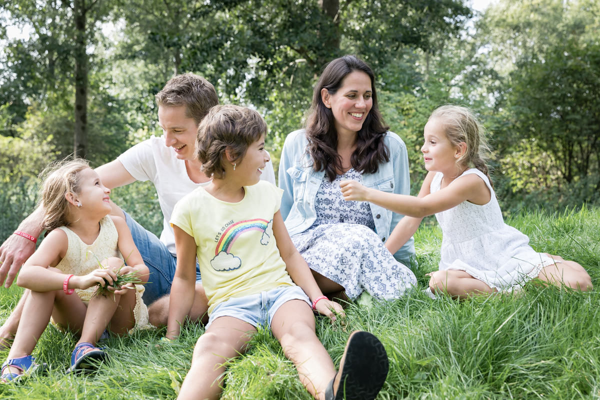 familiefotografie- speelse foto's