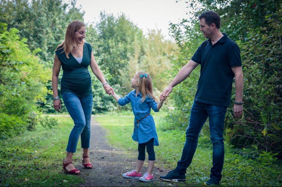 zwanger   gezin