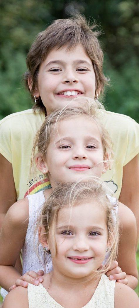 gezin hecht en sterk | 3 zusjes