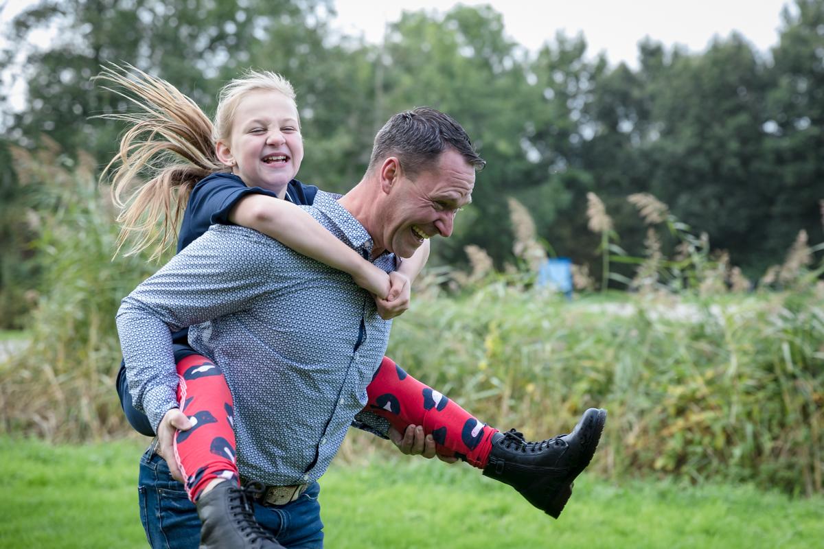 ouder en kind fotosessie | kostbaar aandenken|vader en dochter|GrryFotografie|Amsterdam