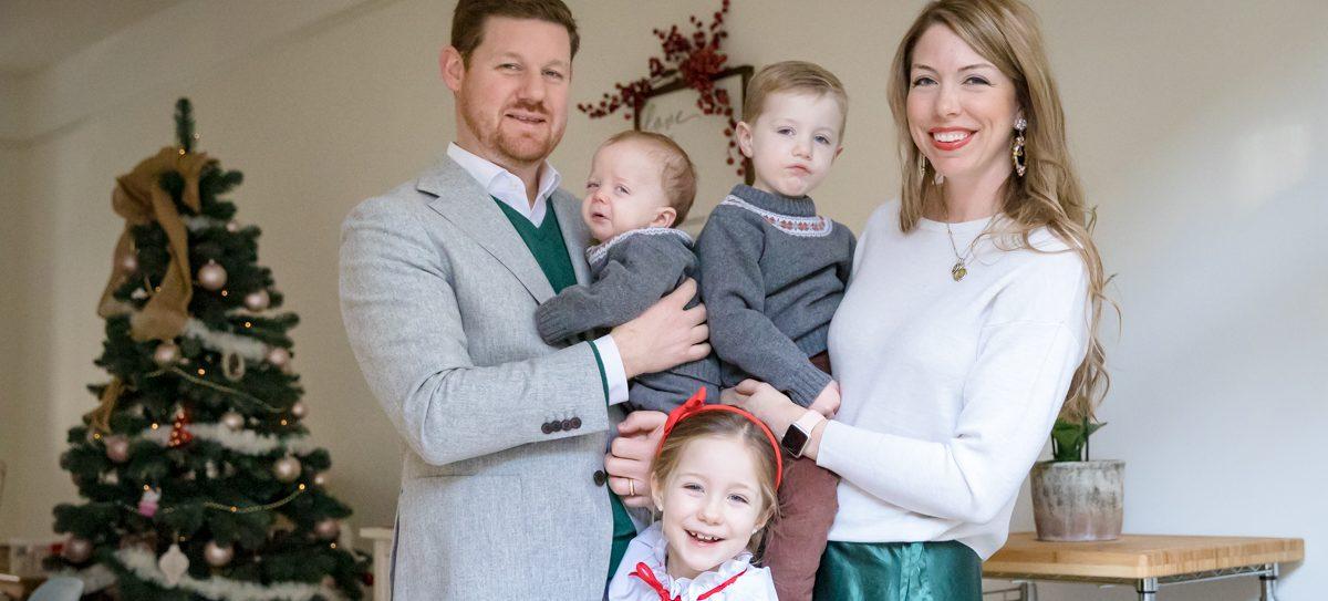 kerst familiefoto